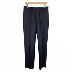 Michael Brandon Black Dress Pant Wrinkle Resistant